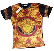 Brand New Authentic Black/Red Versace Medusa T-Shirt Sizes M,L,XL