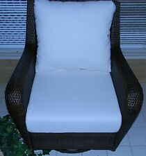 "24""x27"" Cushion Set Wicker Outdoor Deep Seat Furniture Chair-Choice of Solids"