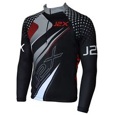 Mens J2X Fitness Pro Long Sleeve Cycle Jersey Cycling Shirt Top
