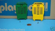 Playmobil 3189 safari 3529 trailer cage end wall, hinged to serve as ramp 117