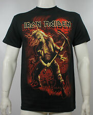 Authentic IRON MAIDEN Benjamin Breeg Song Red Print T-Shirt S M L XL XXL NEW