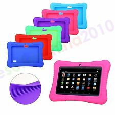 "Cute Silicone Soft Case Cover For 7"" Android A23 / A33 Q88 Tablet PC Kids Gift"