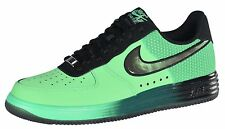 Nike Men's Lunar Air Force 1 Basketball Shoes-Poison Green/Black