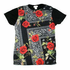 KONFLIC VACATIONS FLORAL JERSEY PRINT T SHIRT  SUBLIMATED SUMMER  MENS WEAR