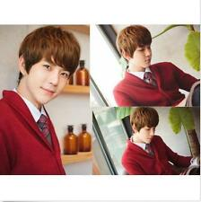 New Handsome Boys Fashion Short Sexy Men Light Brown Hair Cosplay Wig Wigs