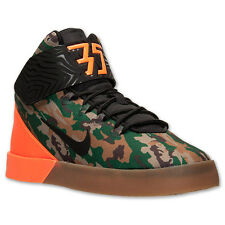 NIKE KD VULC MID GRADE SCHOOL KIDS 718551-300 GORGE GREEN/BLACK/TOTAL ORANGE GS