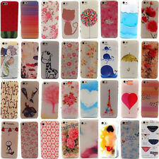 New Slim Painted Cute Design Hard Back Case Cover Skin For Apple iPhone 4S 5S 5G