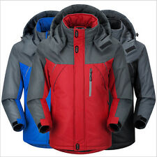 New Fashion feather Men's Warm Hoodie Coat Parka Winter Coat Outwear Ski-wear