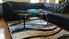 NEW TRADITIONAL MODERN GLASS COFFEE TABLE