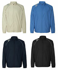 adidas - ClimaProof Three-Stripe Full Zip Jacket - A169 - Adidas Mens Jacket