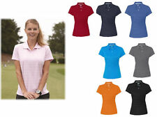 adidas - Golf Ladies ClimaLite Textured Short Sleeve Polo - A162 - Womens S-2XL