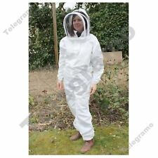 Bee Keepers suit-best quality-khaki + white-protective equipment-all Tamaño