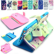 Magnetic Flip Wallet PU Leather Stand Phone Case Cover For Various Samsung Motor