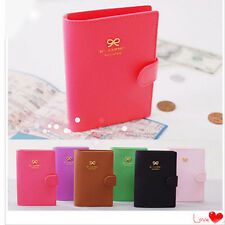Fashion Bowknot Crown Buckles E-Passport Protect Cover Passport Case Holder opus