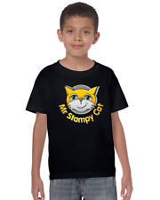 MR STAMPY CAT   youtube gamer nerd  KIDS t shirt