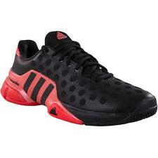 Adidas Barricade 2015 Men's Tennis Shoe Black/Red B44439 sz 8-13