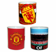 Manchester United FC Official Soccer Gift Boxed Ceramic Mug Red (RRP £9.99!)