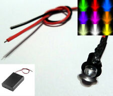 Constant 3mm/5mm LED With Battery Box & Switch AA/AAA/PP3 - Scalextric