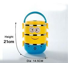 Cartoon Stainless Steel Lunch Box Food Container Thermal Insulation Bento Box