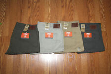 NWT Mens DOCKERS 5 Pocket Cotton Pants Khaki Gray Olive Stone 32 34 36 38 40 42