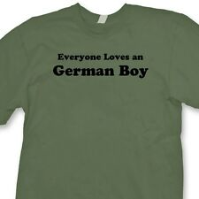 Everyone Loves A German Boy T-shirt Funny Heritage Germany Gift Tee Shirt