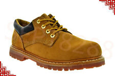 KINGSHOW MEN'S SHORT WORK BOOTS WITH GENUINE LEATHER 7006