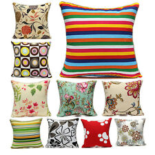 Vintage Fashion Square Throw Pillow Cases Home Sofa Decorative Cushion Cover