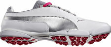 Puma SunnyLite Golf Shoes Ladies 187589-02 White/Silver/Rasberry 2015 Womens New