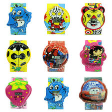 New Cute Cartoon Unisex Children Kids Sports Bendable Strap Quartz Wrist Watch