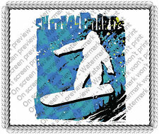 Snow Boarding  ~ Frosting Sheet Cake Topper ~ Edible Image ~ D20072