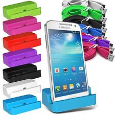 Micro USB Desktop Charging Dock Stand Station for Various Samsung Galaxy Models