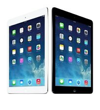 Apple iPad Air WiFi & or Unlocked 4G LTE Gray & Silver Excellent Condition (A)
