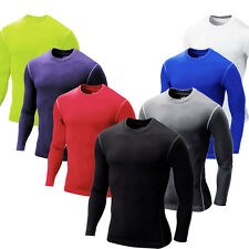 Compression Body Base Layer Jerseys Tops Long Sleeve Sport T-Shirt Skins Gear