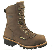 "Wolverine WO5523 - Men's Chesapeake Waterproof Steel-Toe EH 8"" Logger Work Boot"