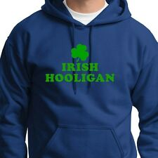 IRISH HOOLIGAN Funny Ireland T-shirt Beer St Patricks Day Hoodie Sweatshirt