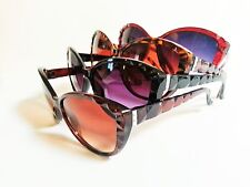 Womens Cat Eye Sunglasses Retro Vintage Inspired Beveled Frame and Arms