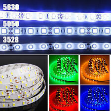 5050 3528 5630 SMD White Waterproof 12V 5M 300LED Strip Light String Lamp Tape