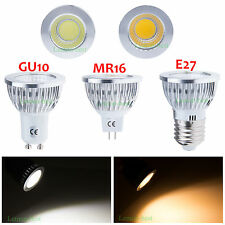 Bright E27 GU10 6W 9W 12W COB LED Dimmable Globe Bulbs Spotlight Wholesale lamps