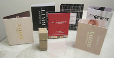Various Burberry Fragrance Sample Vials- You choose the scent
