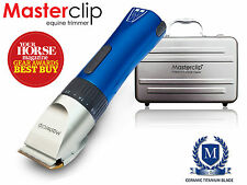 Ex Demo Masterclip Showmate Cordless Horse Trimmer Clipper in Blue SAVING OF £10