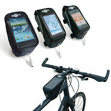 BTR Bicycle Frame Cycling Pannier Bike Bag & Mobile Phone Holder Water Resistant