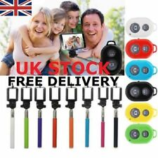 SELFIE MONOPOD STICK + BLUETOOTH SHUTTER REMOTE CONTROL For iPhone 6/5S Samsung