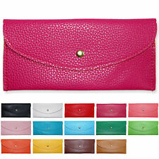 Multi Purpose Womens Girls Envelope Clutch Coin Purse Wallet Card Case Bag