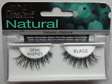 **ARDELL FASHION LASHES DEMI WISPIES IN BLACK. CHOOSE WITH OR WITHOUT GLUE**