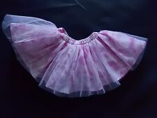 NWT Girl's Gymboree Center Stage flower elastic tutu skirt ~ 6 12 6-12 months