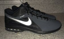 NEW Mens Sz 11 NIKE Air Max MVP Elite 3/4 Mid Black Baseball Metal Spike Cleats