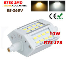 R7S J78 78mm 10W 5730 SMD LED Lámpara Bombillas Light Floodlight AC85-265V White