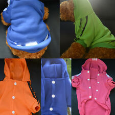 Larger Small Pet Puppy Dog Autumn Coat Clothes Hoodie Sweater Costumes 12 Sizes