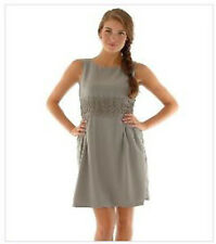 DARLING GREY LACE TRIMMED DRESS.  SIZE M & XL.    RRP £69   * BNWT*