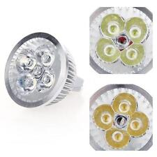 DC12-24V 4W MR16 Dimmable LED Light Spotlight Bulb Cool/Warm White Lighting Lamp